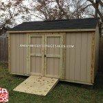 Mega Storage Sheds Shingle Color Rustic Black